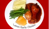 Lemon Garlic Chicken (Veg)